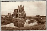 Yorkshire - Whitby Abbey - Real Photo Postcard - Whitby