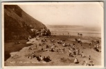 Yorkshire - Whitby, West Cliffs - Real Photo Postcard 1935 - Whitby