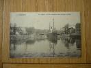 CPA CAEN - LE PORT,ENTREE DU CANAL DE CAEN A LA MER-1903- - Caen