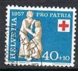 Schweiz, 1957 Pro Patria 40 Cent., MiNr. 645 Gestempelt (a280502) - Pro Patria