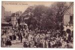 DEAUVILLE   ( Calvados  )  1919 - La Potinière   ( Belle Carte Animée...) - Deauville