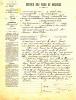 HERGNIES 59  ( CONTROLE DES POIDS ET MESURES ) MR DECARPIGNY VERIFICATEUR CACHET MAIRIE DE VALENCIENNES  1901 - Vieux Papiers
