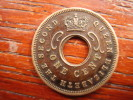 BRITISH EAST AFRICA USED ONE CENT COIN BRONZE Of 1956 H. - East Africa & Uganda Protectorates