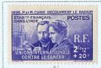 INDE 1938  Pierre Et Marie Curie  Yv 115  * - Ungebraucht