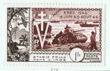 INDE 1954  10è Ann De La Libération Poste Aérienne PA 22  * - Ungebraucht