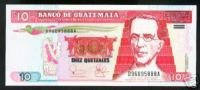 GUATEMALA NOTE 10 QUETZALES 2003 PICK # 107 UNC. - Guatemala