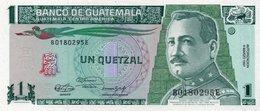 GUATEMALA 1 QUETZAL 1979 PICK # 59c UNC. - Guatemala