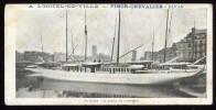 Cpa Format Spécial Du 76 Le Havre Le Bassin De Commerce Publicité Pour Pimor Chevalier à Dinan       LOU18 - Port