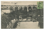 Viaduc Du Nord Cachet Noerdange Martelange Taxée France  P. Houstrass - Luxembourg - Ville