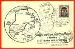 Carte Maximum ALGERIE - Rallye Aérien International ALGER ORAN Organisation Aéro-club D' Algérie 1951 - Aviation Légère - Other