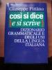 COSI' SI DICE E SI SCRIVE -380 PAGINE - - Dizionari