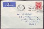 RHODESIA - NYASALAND - WANKIE - GAME RESERVE ELEPHANTS - AIRMAIL To NATAL - 1958 - Olifanten