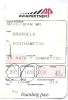 Boarding Passes - Brussels-Southampton-Guer Nsey-Birmingham-Brussels - T3_4476/Flybe637/Flybe512 /SN2048 - Instapkaart