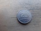 Indonesie  25  Rupiah  1971  Km34 - Indonésie