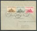 Lettre Affranchie De Timbres De La Série Basilique De KOEKELBERG Obl. Sc NAMUR 1 Du 20-10-1938 Vers Paris.  TB  - 7592 - Bélgica