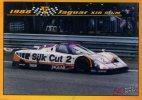 CARTE MODERNE DIMENSION 8,8/6,3 CM...LES 24 HEURES DU MANS...1988 JUAGUAR XJR 9 LM - Autres
