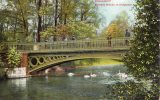 27246    Germania,     Dusseldorf,  Goldene  Brucke  Im  Hofgarten,  VG  1912 - Duesseldorf