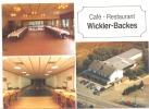 OUDLER - Carte De Visite (format CP) Céfé-Restaurant Wickler-Backes - Cartes De Visite