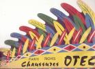 Coiffure En Papier/Indien/Publicité/C Haussures/OTEZ/ TROYES/ Vers 1950        JE13 - Advertising