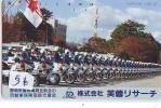 Télécarte Japon * POLICE * PHONECARD JAPAN (56) TELEFONKARTE * POLIZEI * POLITIE * MOTOR - Police