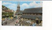 *14  Honfleur - Eglise Ste Catherine / Renault 4cv,frégate,dauphine,Peugeot 203,403,Citroën2cv,ds,Simca,Panhard,VW,etc . - Honfleur