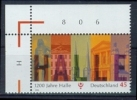 !a! GERMANY 2006 Mi. 2510 MNH SINGLE From Upper Left Corner -Town Of Halle - BRD