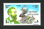 Egypt - Agypten 1997 ( UPU - Heinrich Von Stephan (1831- 1897 ) - Director Of Germany Postal Service ) - MNH (**) - Ägypten