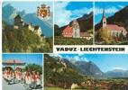 Vaduz, Liechtenstein, Multi View, Unused Postcard [P8723] - Liechtenstein