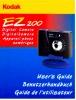 Benutzerhandbuch Für Die Digitalkamera Kodak EZ 200 - Shop-Manuals