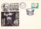 BUTTERFLY, GR ANTIPA SCIENTIST, 1969, SPECIAL COVER, OBLITERATION CONCORDANTE, ROMANIA - Butterflies