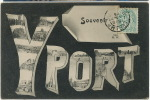 Souvenir Yport Grosses Lettres Multi Vues 286 HW - Yport