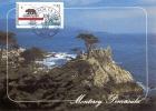 D06570 CARTE MAXIMUM CARD 2008 USA - MONTEREY PENINSULA  CP ORIGINAL - Andere