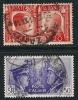ITALIA REGNO - 1941 - FRATELLANZA  D´ Armi - N. 453 E 455 Usati - Cat. 5,50 € - Lotto N. 584 - Usati