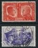 ITALIA REGNO - 1941 - FRATELLANZA  D´ Armi - N. 453 E 455 Usati - Cat. 5,50 € - Lotto N. 585 - Usati