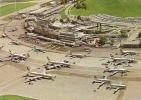 ZURICH AIRPORT ,BEAU PLAN AVION ,COLORISEE    REF 26376 - Aerodromes