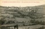 CPA 69 ST BONNET DES BRUYERES VUE GENERALE PRISE DU VIEUX BOURG 1929 - France