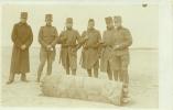 Mobilisatie - Nederlandse Soldaten Bij Bom - 1915 - Fotokaart - Ongelopen - Guerre 1914-18