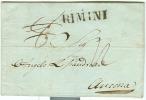 Italie - Précurseur De Rimini Vers Ancona Du 09/12/1846, See Scan - Italia