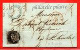 BELGIQUE 10C SUR LETTRE DE 1850 DE ANVERS POUR SAINT NICOLAS - 1849-1850 Médaillons (3/5)