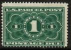 U.S.A.   Scott #  JQ 1**  F-VF MINT NH - Parcel Post & Special Handling