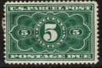 U.S.A.   Scott #  JQ3*  F-VF MINT Hinged - Parcel Post & Special Handling