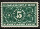 U.S.A.   Scott #  JQ 3**  F-VF MINT NH - Parcel Post & Special Handling