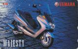 Télécarte Japon - MOTO YAMAHA / SCOOTER - MOTOR BIKE Japan Phonecard - MOTORRAD Telefonkarte - 205 - Motorbikes