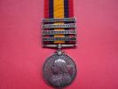 Boer War Medal.  4 Bars Side Text ,,3761 Pte F.w.collins 2nd Midd Sx Reg T.,, - Gran Bretaña