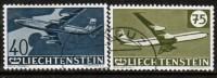 LIECHTENSTEIN   Scott #  C 34-7  VF USED - Air Post
