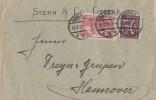 DR Brief Mif Minr.115b,183a Geseke 15.8.22 Geprüft - Briefe U. Dokumente