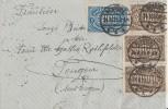 DR Brief Mif Minr.2x 253a,6x 254a Konstanz 24.8.23 Geprüft - Allemagne