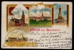 1902 LITHO KARTE DUREN - DUEREN -- GRUSS AUS - Dueren