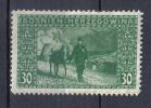 AP20 - BOSNIA ERZEGOVINA 1906 , Il N. 37  *  Mint . Dent Stretta - Bosnia Erzegovina