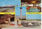 N°18051 GF -cpsm Aéroport Charles De Gaulle - Aerodromes